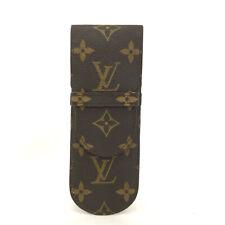 100% Authentic Louis Vuitton Monogram Etui Stylos Pen Case /20852