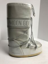 Moon Boot, Grey/Silver Warm Winter Snow Boots, Women's Size 9-10.5M.