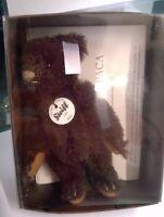 Steiff Vintage soft toy Miniature  Steiff Club Brown Bear 2011  Free Post UK