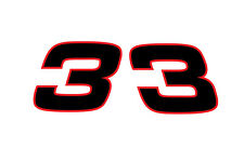 Dale Earnhardt Austin Dillon #3 Racing Sticker Vinyl Decal 3-55