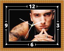 Reloj De Pared Eminem Slim Shady Presente Navidad Cumpleaños (personalizable)