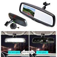 "4.3"" 800*480 TFT LCD Car Auto Dimming Rear View Mirror Monitor Bracket +Bracket"