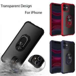 Handyhülle Ring Schutz Hülle Für iPhone 13 Pro Max Transparent Schale Case