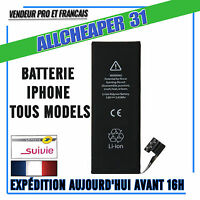Batterie Iphone 5s 5SE 5c 5 4s 4 6 6s 7 plus TOP Qualité Batterie Neuve 0 CYCLES