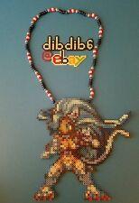 Felicia Darkstalkers perler kand necklace rave EDC PLUR