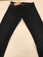 """BNWT Ralph Lauren Low Skinny Blue Jeans. Size 30"""" X 34"""". RRP £95"""