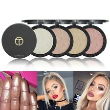 4 Colors Makeup Face Eye Highlight Powder Palette Shimmer Highlighter Cos Sale