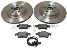 FRONT AND REAR BRAKE DISCS AND PADS FOR JAGUAR XF 2.7D 1//2008-8//2009