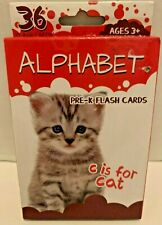 NEW Bendon Alphabet Pre-K Flash Cards with 36 Flashcards Ages 3+