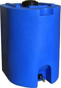 55 Gallon Water Storage Tank Container Barrel Drum Large Plastic BPA Free