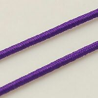 Cotton Covered Elastic approx 15M, Single Length or Bulk Buy approx 1mm thick