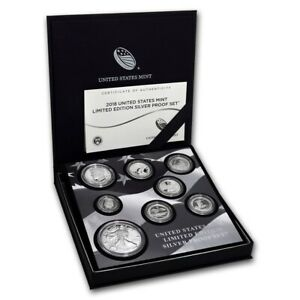 2018 United States Mint Limited Edition Silver Proof Set COA