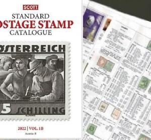 Brazil SHORT 2022 Scott Catalogue Pages 581-692