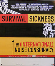 INTERNATIONAL NOISE CONSPIRACY, SURVIVAL SICKNESS POSTER (M8)