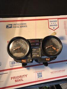 1981 Honda Cb900f 900 F Cb Speedometer Tachometer Gauges Instruments