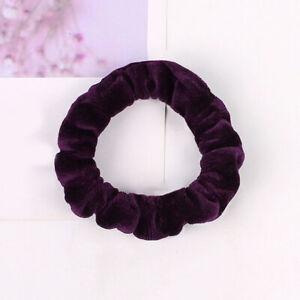 Retro Women Velvet Hair Rope Elastic Hair Bands Hair Scrunchies Ponytail Holder