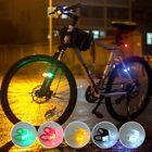 2 X Faro Luci Bicicletta Bici Anteriore Posteriore LED Fanale MTB BMX Ciclismo
