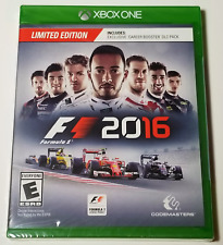 F1 2016: Limited Edition (Microsoft Xbox One, 2016) Brand New/Sealed VGA Quality