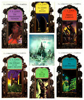 The Chronicles of Narnia Complete Paperback Set Books 1-7 By C.S. Lewis