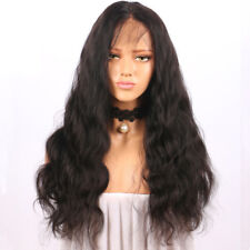 Curly Glueless Full Lace Front Natural Wigs Black Women Indian Remy Human Hair