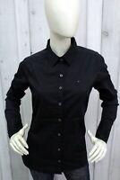 TOMMY HILFIGER Camicia Donna Taglia L Cotone Shirt Casual Chemise Manica Lunga