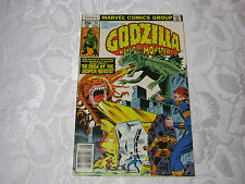 GODZILLA  KING OF THE MONSTERS 1970'S MARVEL MONSTER COMIC 14 SEPT  T*