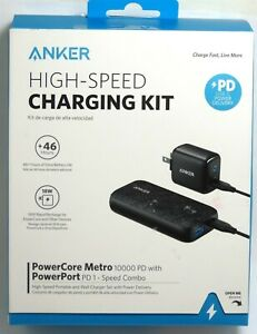 Anker - PowerCore Metro PD 10,000 mAh USB-C Portable Charger for Phone/Tablet