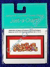 Cross Stitch Chart Bears of Duckport Teddy Pattern Suzy's Zoo Teddies