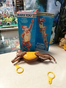 Marx Toys Jocko The Climbing Monkey Boxed