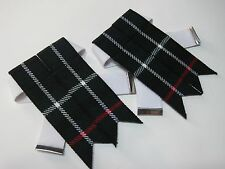 Mackenzie Kilt Hose/Sock Flashes for Men NEW - FREE SHIPPING !