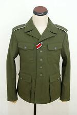 WWII German DAK/Tropical Afrikakorps olivebrown field tunic 2nd pattern/M42 XL