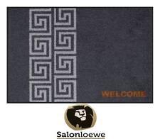 Paillasson 50 x 75 cm Paillasson lavable en cas de 40°C salonlöwe Efia Bienvenue