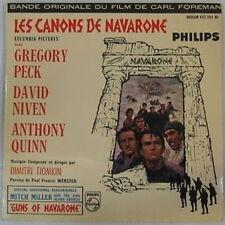 Peck Niven Quinni 45 tours Canons Navarone 1961