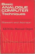 Basic Analogue Computer Techniques * CDROM * PDF