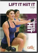 CATHE FRIEDRICH Ripped with HIIT LIFT IT HIT IT Legs DVD