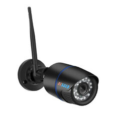 Black Wireless Home 720P Security IP Camera Rechargeable Battery Powered UK