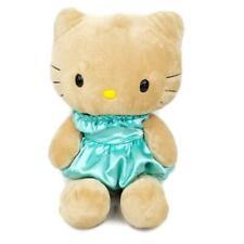 Build A Bear Hello Kitty 18 In Plush Cat Tan Fur Satin Dress Stuffed Animal BAB