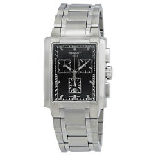 Tissot Classic TXL Chronograph Black DialStainless Steel Mens Watch
