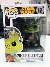 Funko Star Wars Gamorrean Guard #12 MISB Brand New In Hand