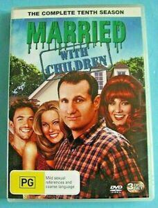 MARRIED WITH CHILDREN Season 10 DVD Region 4 AUST