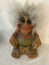 Large Vintage Norwegian Ny Form (?) Unmarked Nordic Troll 11� Tall