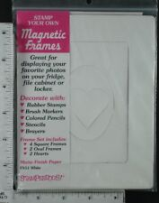 Stampendous Magnetic Frames, Pack of 2 sheets - 8 magnets