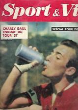 CYCLISME spécial tour de France 1957-Revue SPORT & VIE n° 14 de juillet 1957