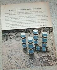 1971 print ad - YSL Yves Saint Laurent RIVE GAUCHE perfume advertising ADVERT