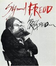 SIGMUND FREUD by RALPH STEADMAN- Large Softcover-Firefly Books 1997-1st Edition