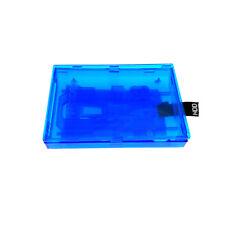 Clear Blue Interno Unidad de disco duro caso para Xbox 360 Slim/Xbox 360E