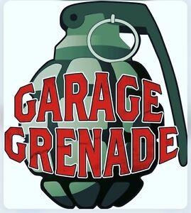 Garage Grenade Motorbike Motocross alarm system!  Shed Alarm Garage Mx Quad