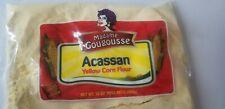 Madame Gougousse acassan yellow corn flour Nt.wt 3 lbs farine acassan