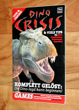 2000 Dino Crisis Rare Tipps & Tricks Mini Heft Guide Booklet PS1 Dreamcast N64.