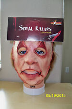 ADULT SERIAL KILLER 30 CREEPY SCARY CRAZY INSANE LATEX FACE MASK COSTUME TB25530